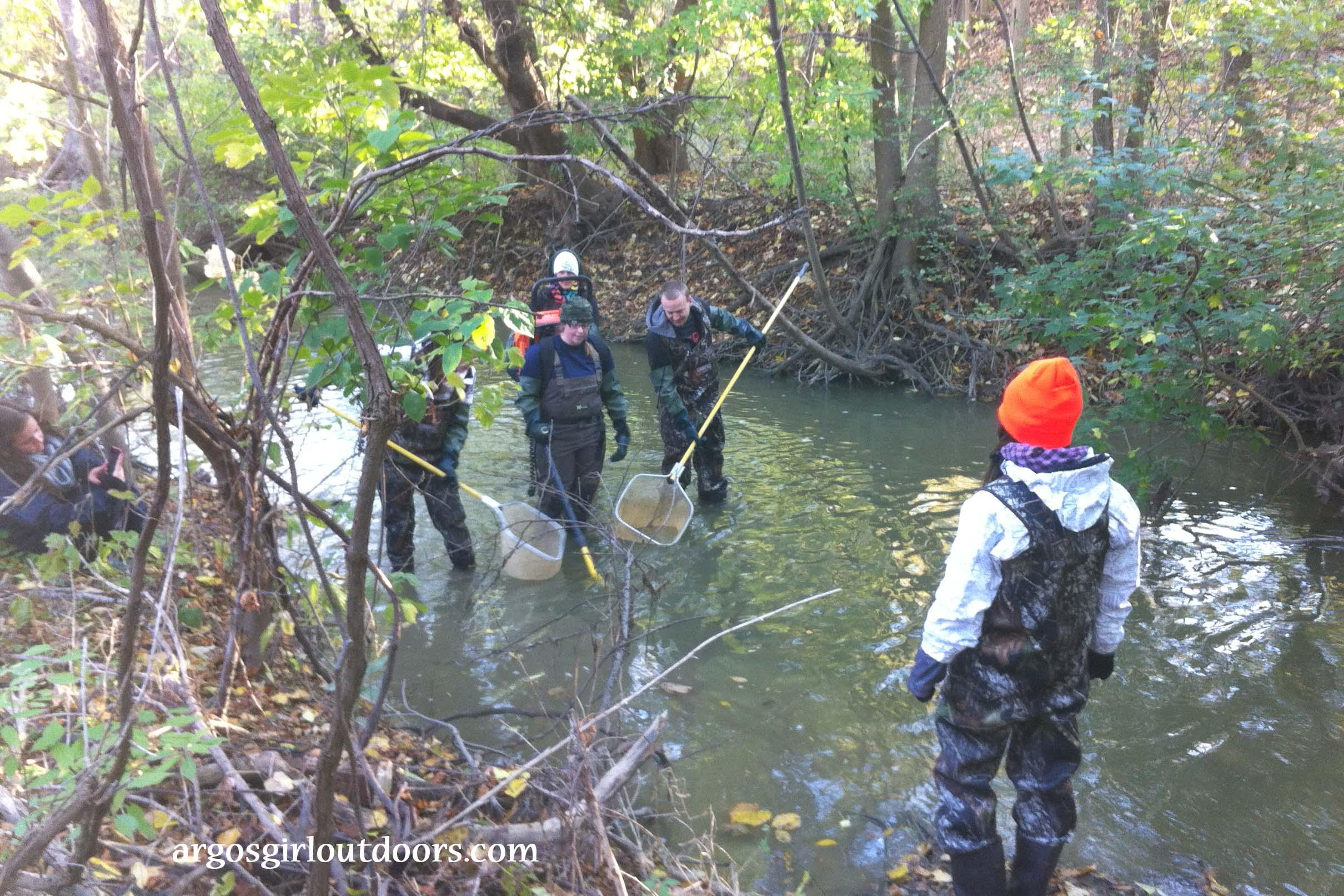 electrofishing certification learning with a zap argosgirl outdoors rh argosgirloutdoors com